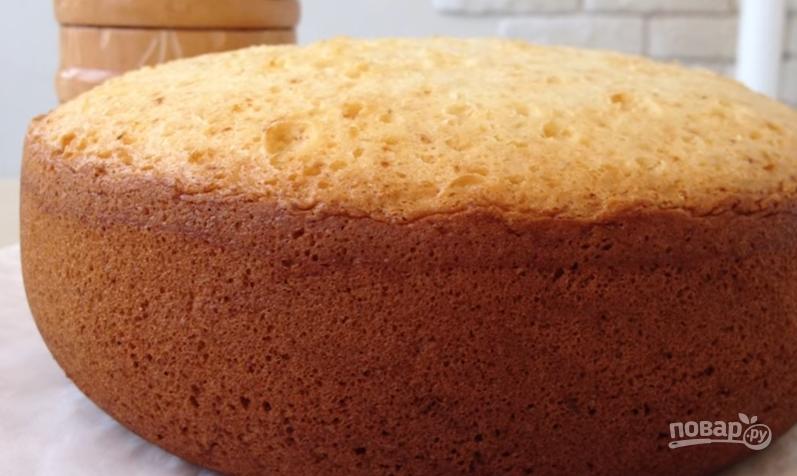 Как приготовить пышный бисквит для торта