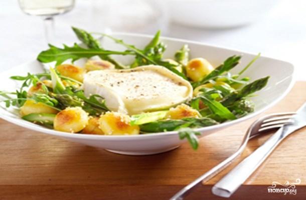 Рецепт Салат с картофелем и сыром