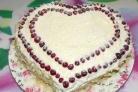 Торт Влюбленное сердце