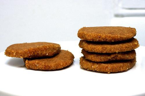 Сахарное печенье с коричневым маслом