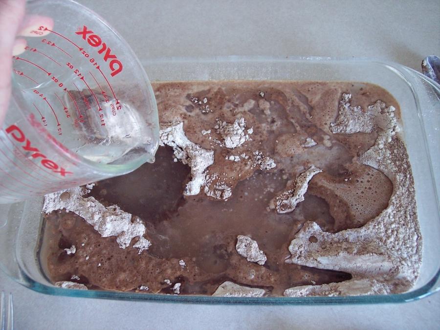 Постный шоколадный кекс - фото шаг 2