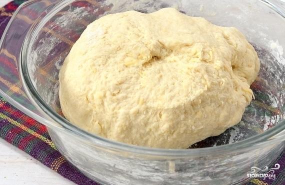 Сырное тесто - фото шаг 4