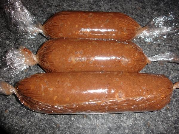 Как сделать сладкую колбаску фото