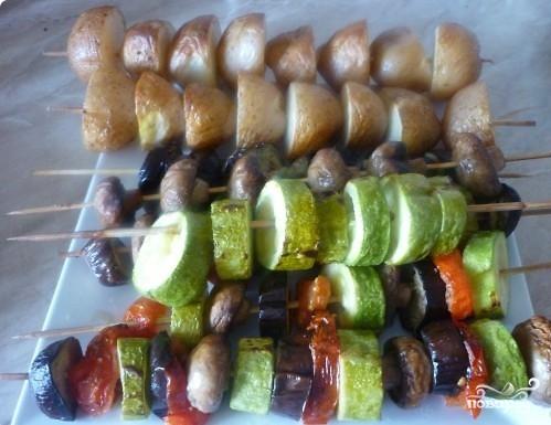 Гарнир к мясу в духовке