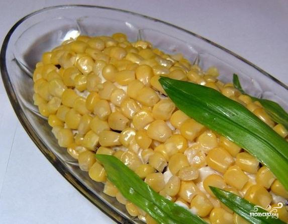Кукурузный салат рецепт
