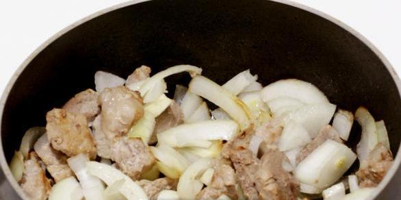 Жареная свинина с овощами - фото шаг 3
