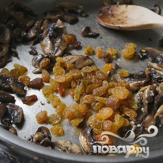 Жареный сквош с грибами - фото шаг 4