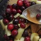 Рецепт Клюквенно-яблочный пирог