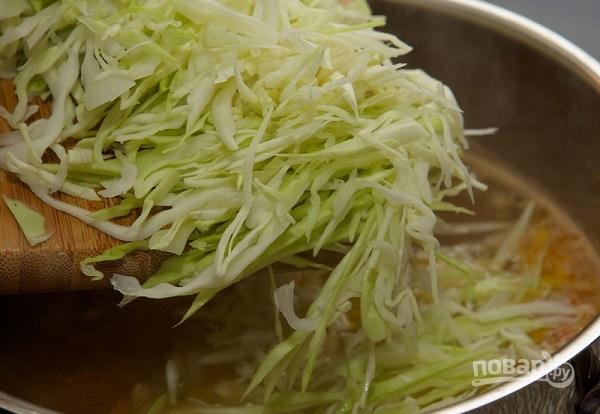 рецепт борща свежей капусты фото