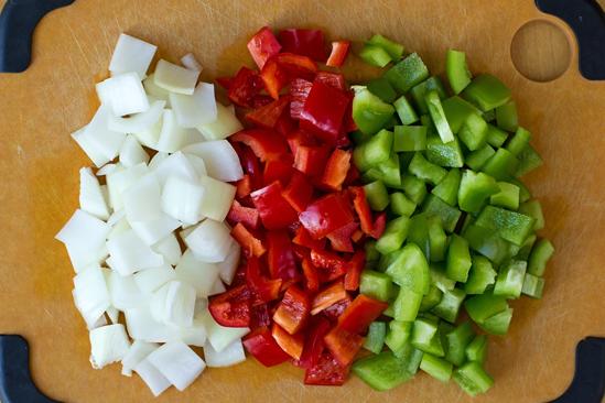 Рецепт Курица с овощами в кисло-сладком соусе