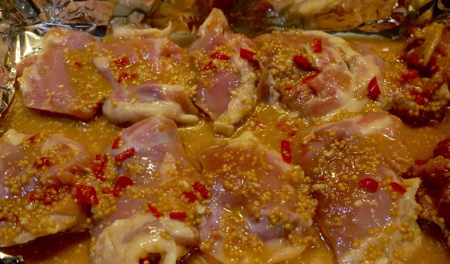 Блюда из куриных бедер в духовке