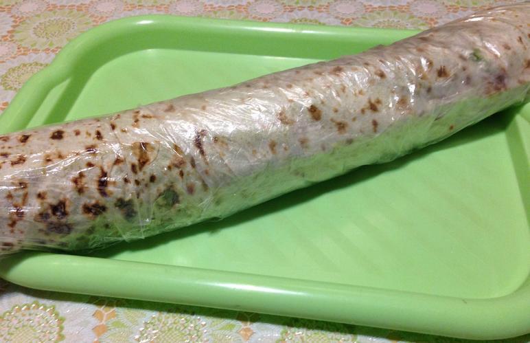 Рулет из лаваша с морковкой по-корейски - фото шаг 8