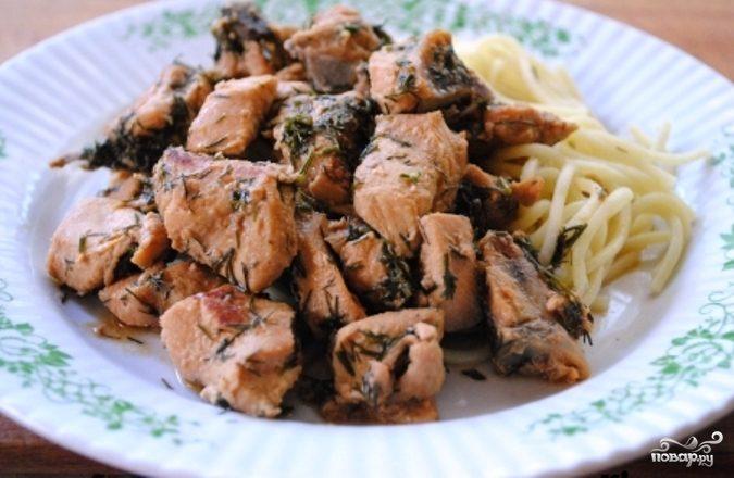 Куриное мясо в мультиварке