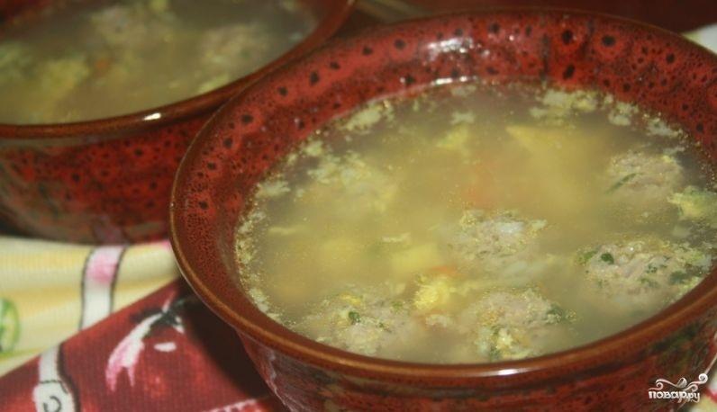 грибной суп с рисом пошаговый рецепт с фото