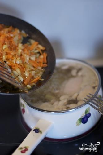 Фасолевый суп - фото шаг 7