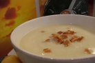Суп из цветной капусты с беконом