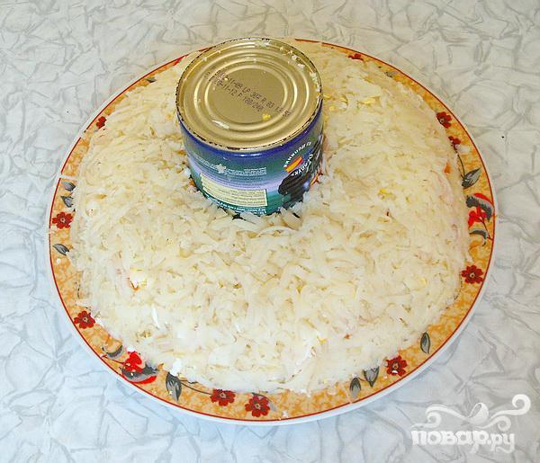 """Новогодний салат """"Нефритовый браслет"""""""