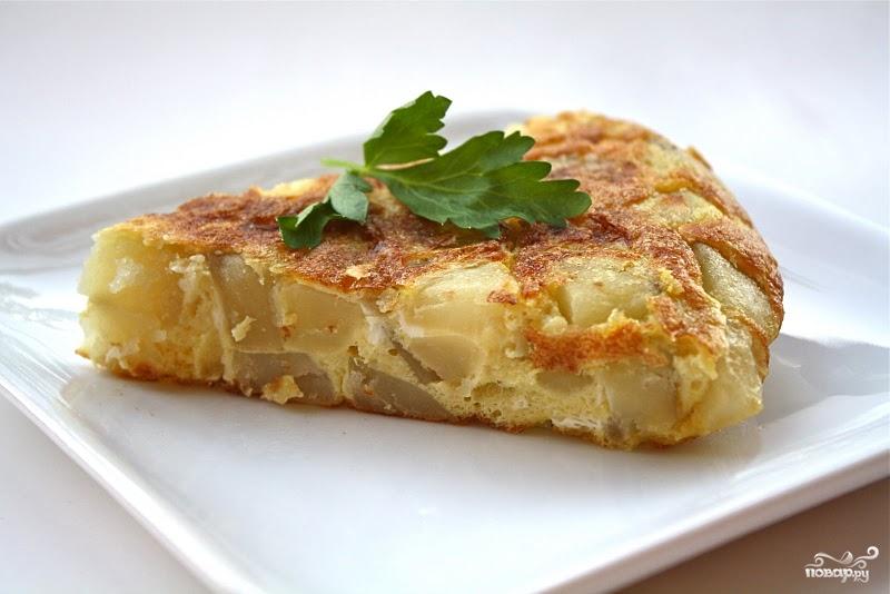 Рецепт Запеканка картофельная в микроволновке