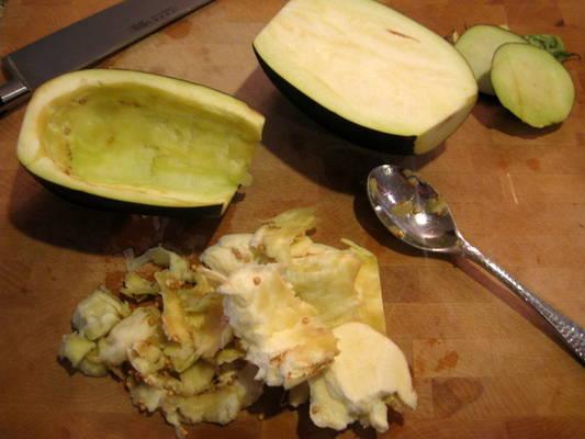 Рецепт Свинина с баклажанами в духовке