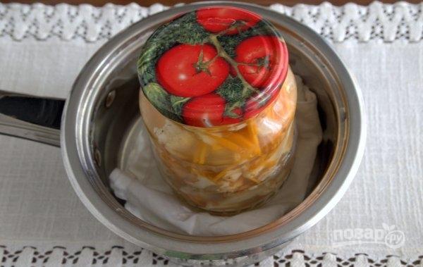 маринованная цветная капуста с яблочным уксусом