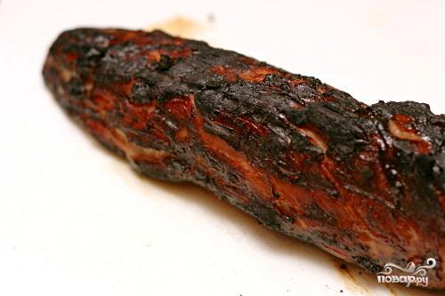 Свиная вырезка в медово-имбирном маринаде - фото шаг 3