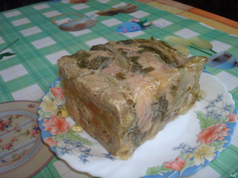 Рецепт Холодец из лосятины