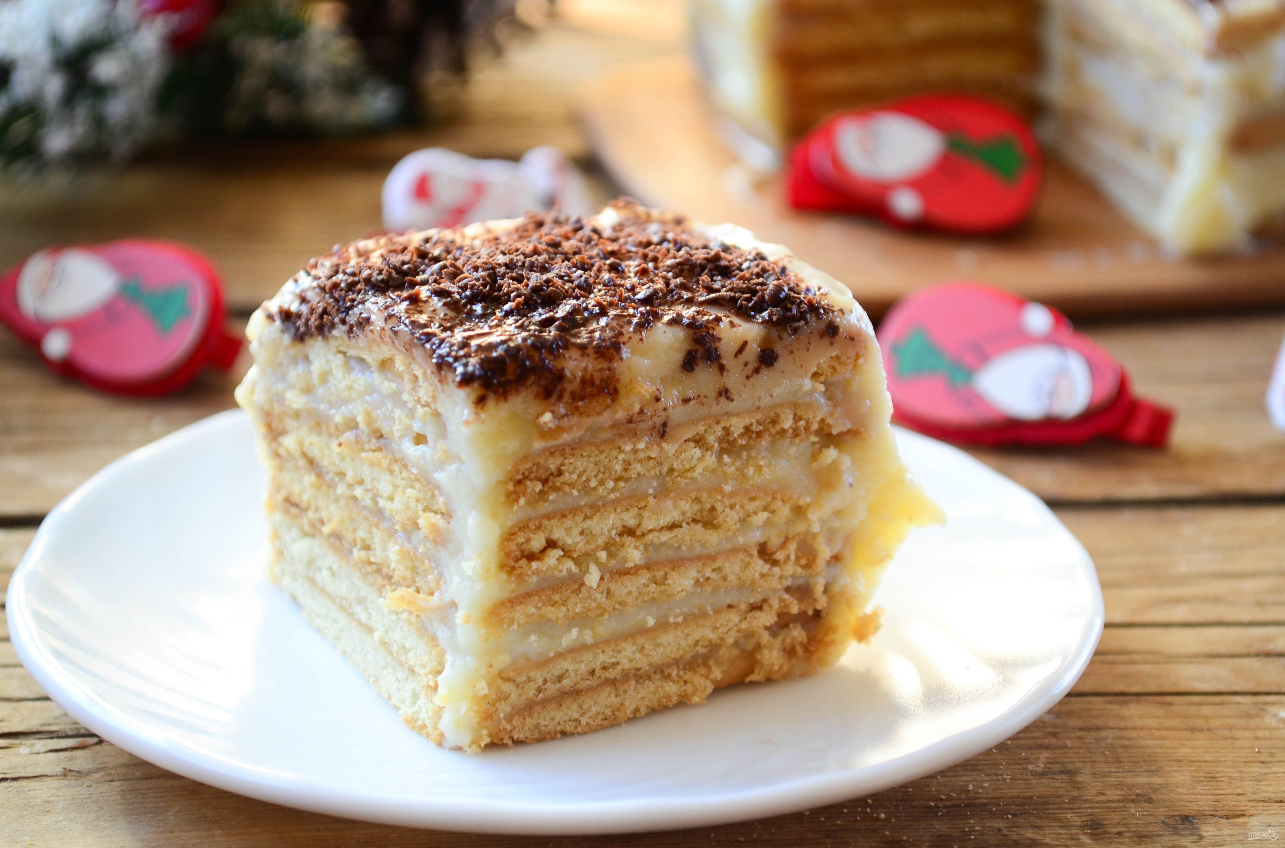 муравейник торт с заварным кремом рецепт с фото