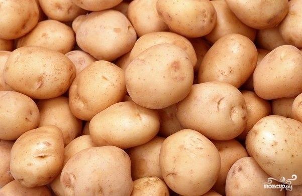 Рецепт Картофель запеченный в пакете