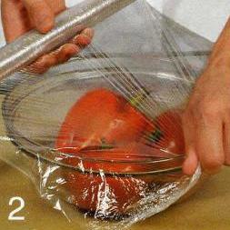 Линь с запеченными помидорами и перцами - фото шаг 2