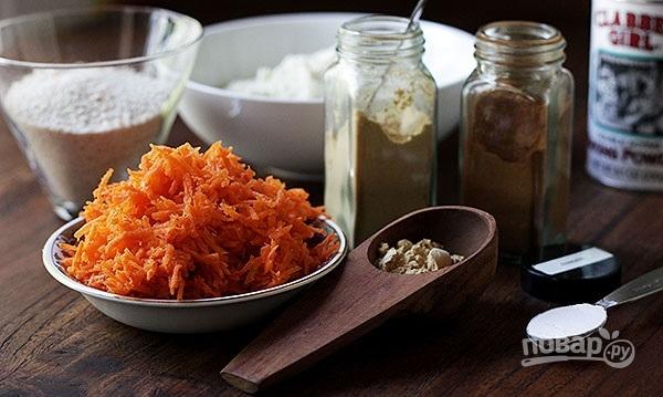 Швейцарский морковный торт - фото шаг 1