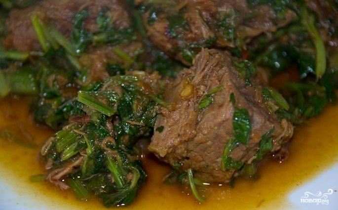Рецепт Чашушули из баранины