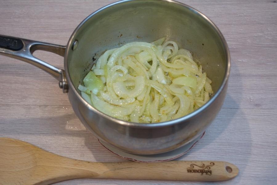 Суп с запеченными баклажанами - фото шаг 2