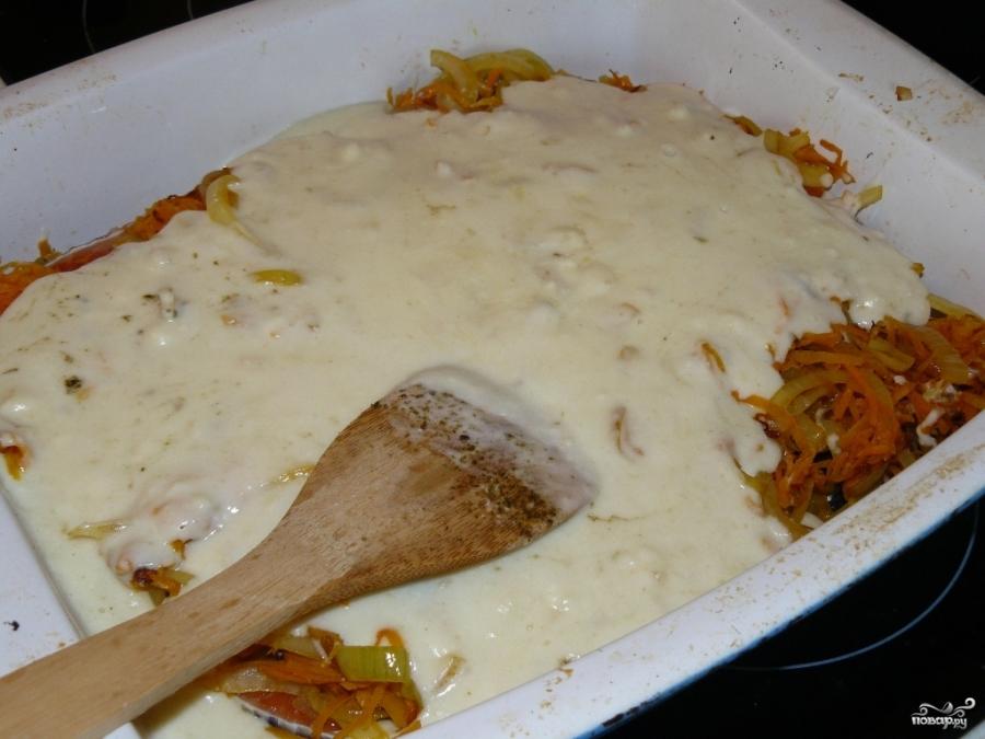 Форель со сливками в духовке - фото шаг 4