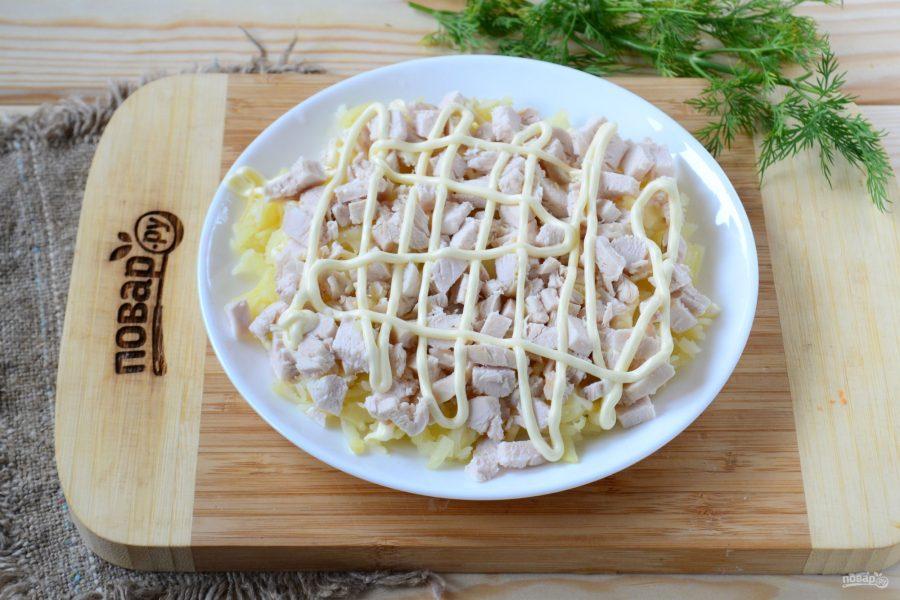 салат любовь пошаговый рецепт с фото