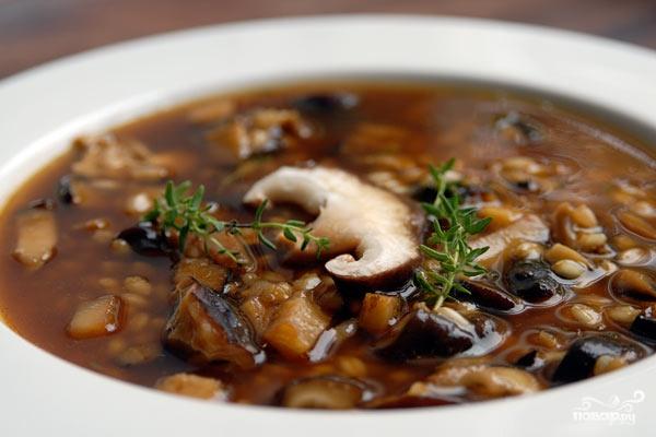 Рецепт Грибной суп в мультиварке