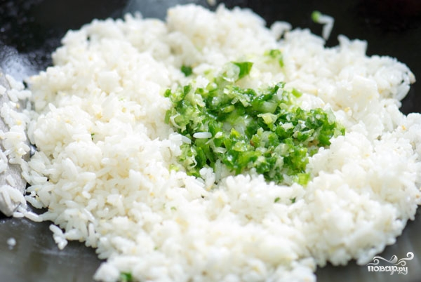 рис чесноком рецепт фото