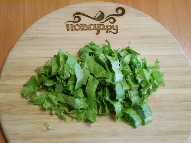 Капустный салат с майонезом - фото шаг 3