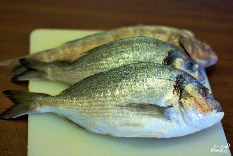Рецепт Рыба, запеченная в соли