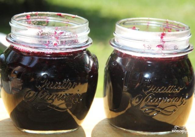 Желе из винограда на зиму