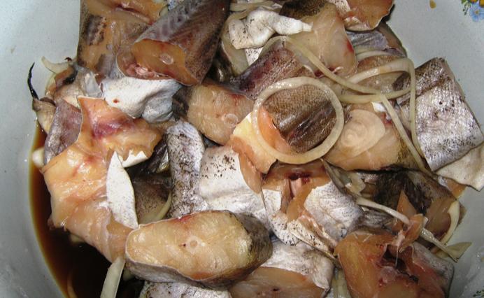 Блюдо с постным мясом