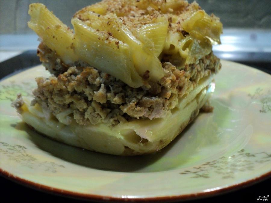 Макаронник с мясом рецепт с фото пошагово