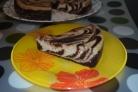 Кекс мраморный в мультиварке