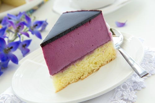 Черничное суфле для торта - фото шаг 4