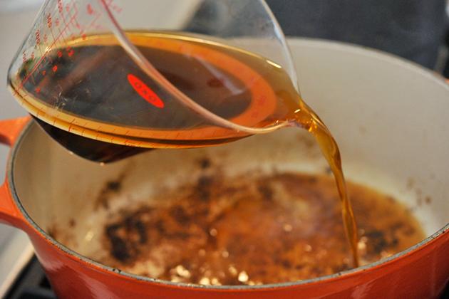 Говядина в вине с овощами - фото шаг 5