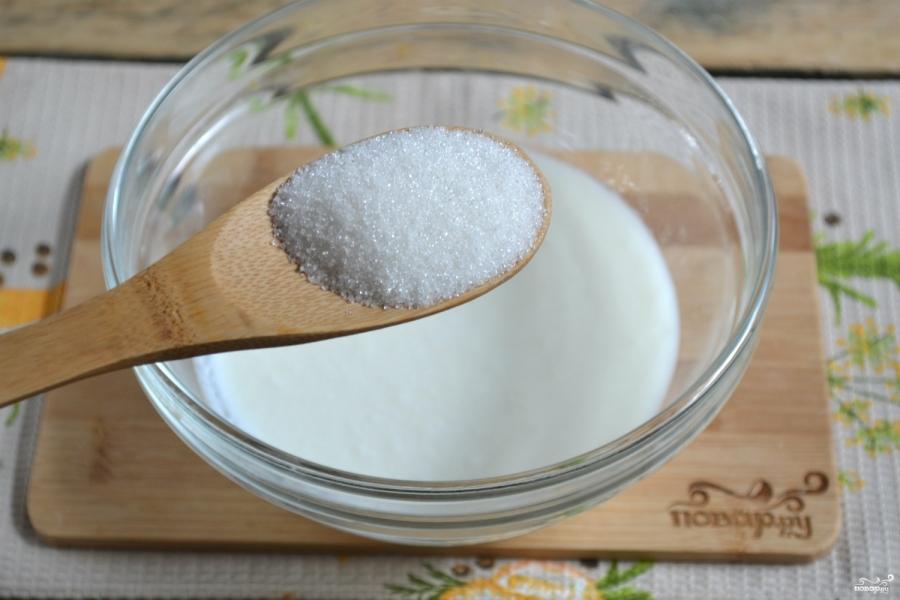 Тесто для хачапури на кефире - фото шаг 2