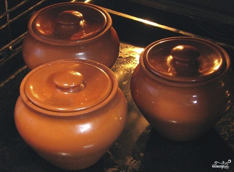 Картофель в горшочках в духовке - фото шаг 10