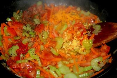 Фасолевый суп с фрикадельками - фото шаг 3