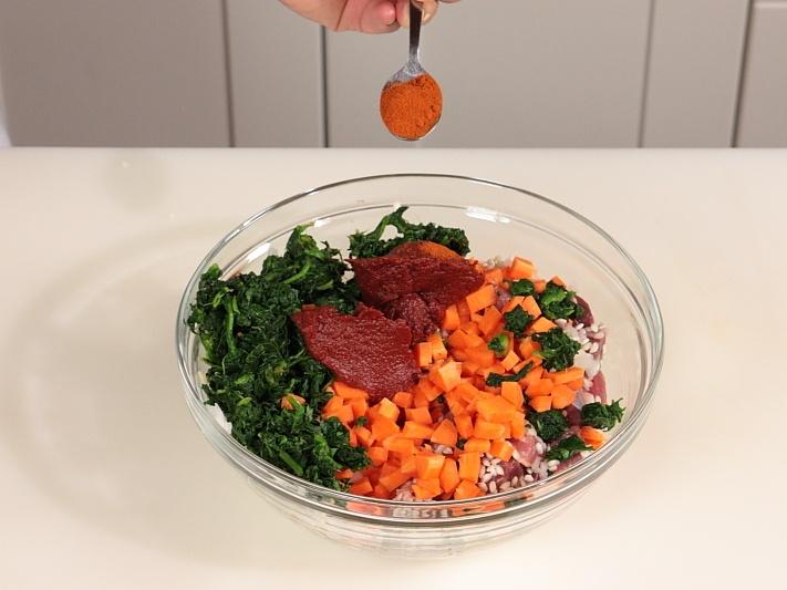 Рис с мясом и овощами на пару - фото шаг 5