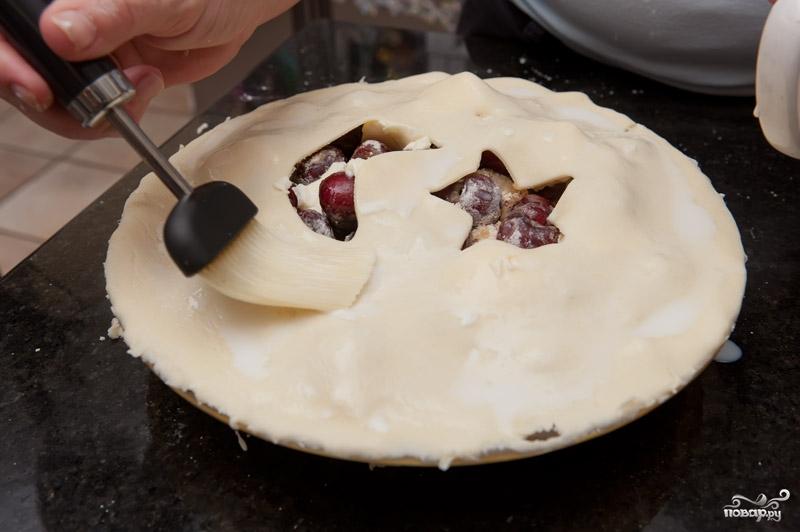 Пирог с вишней - фото шаг 5