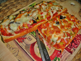 Пицца-багет - фото шаг 8